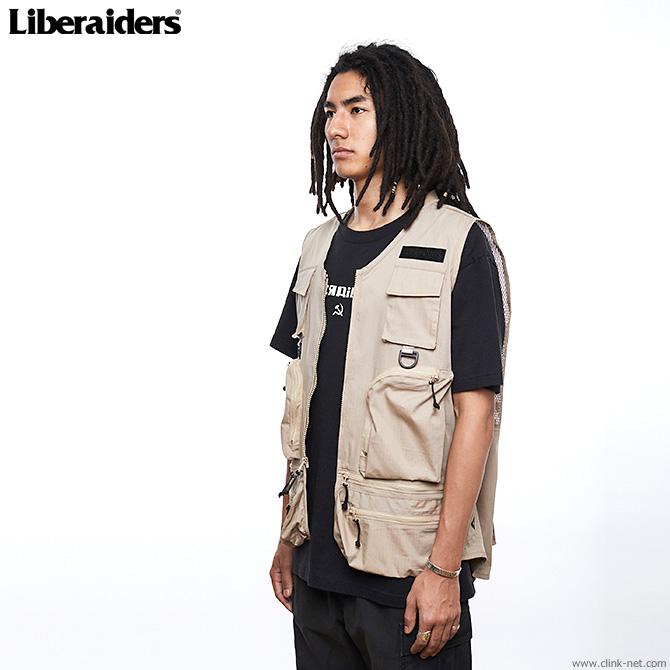 LIBERAIDERS CAMERA VEST (SAND) #71005