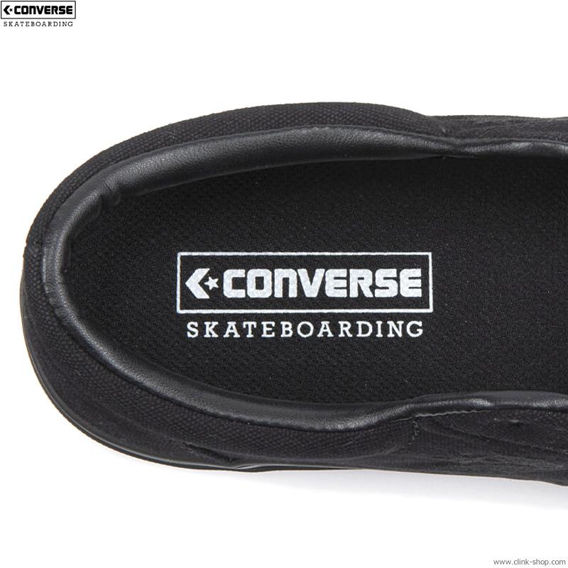 CONVERSE SKATEBOARDING BS2 SK OX (BLACK MONOCHROME)