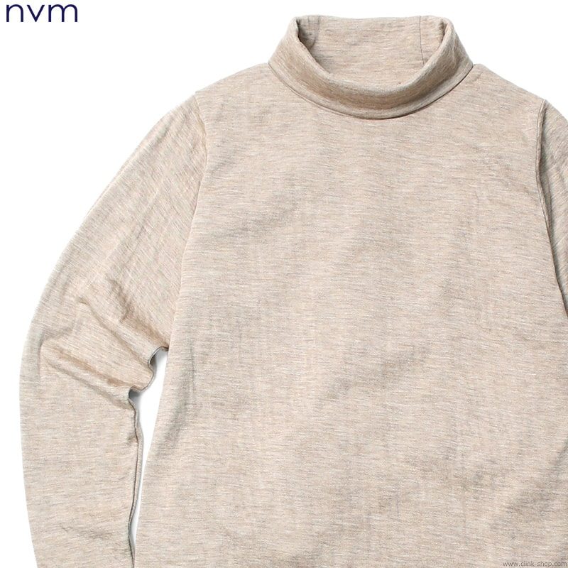 NVM RLX HIGH NECK (BEIGE) [NVM16A-CS02]