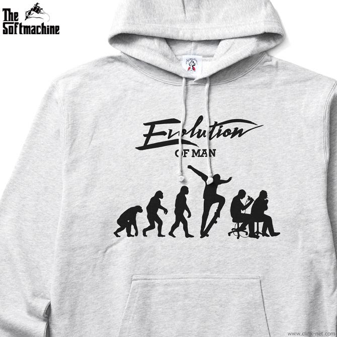 SOFTMACHINE EVOLUTION HOODED (GRAY)