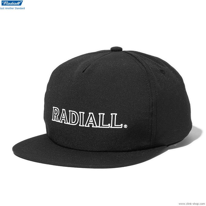 RADIALL OUTLINE - TRUCKER CAP (BLACK)
