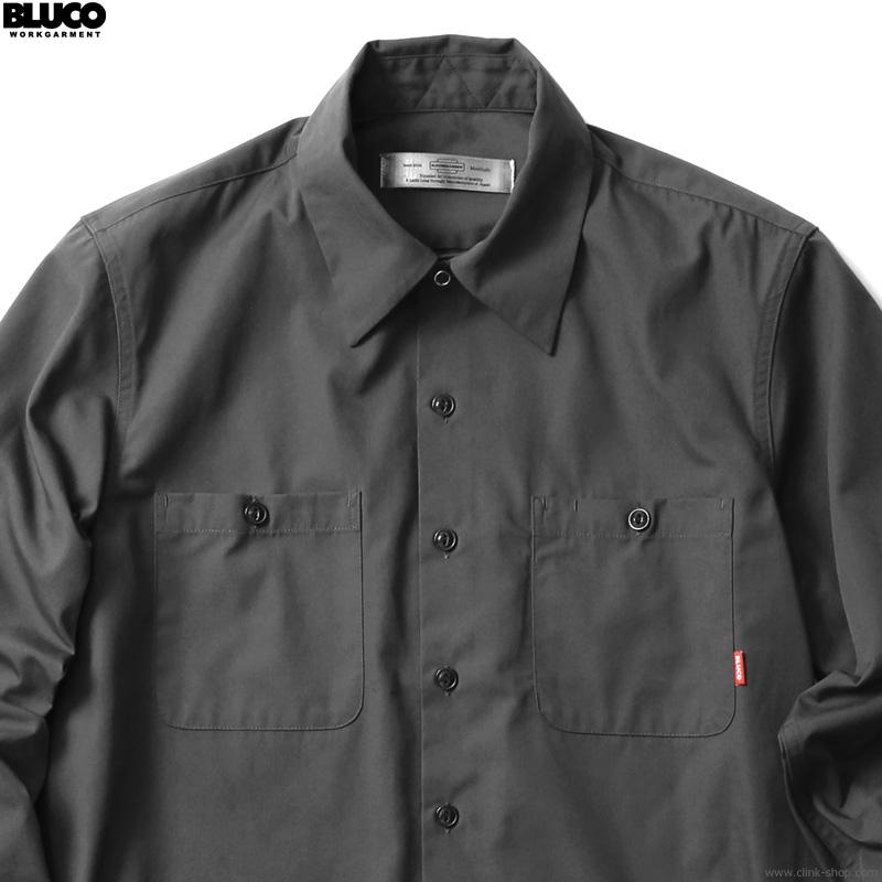 BLUCO STANDARD WORK SHIRTS L/S (BLACK) [OL-109-021]