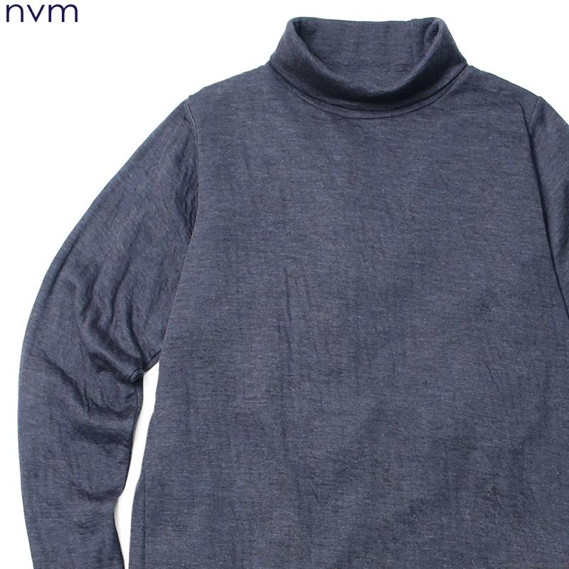NVM RLX HIGH NECK (NAVY) [NVM16A-CS02]