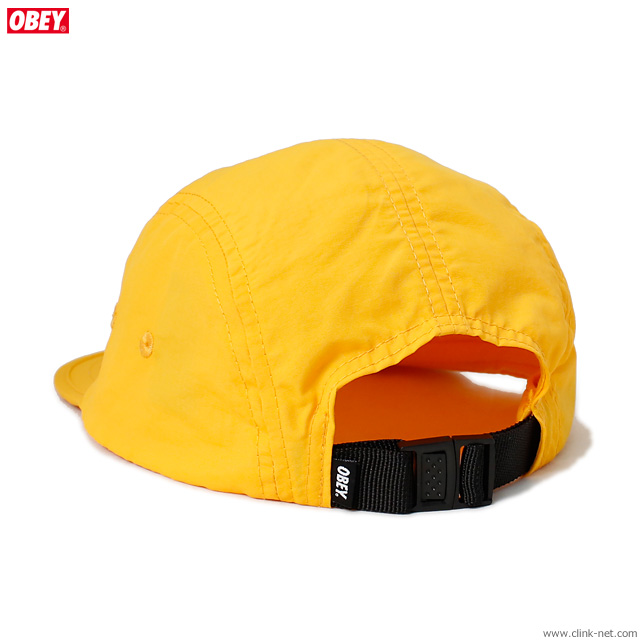 OBEY DEPOT 5 PANEL HAT (ENERGY YELLOW)