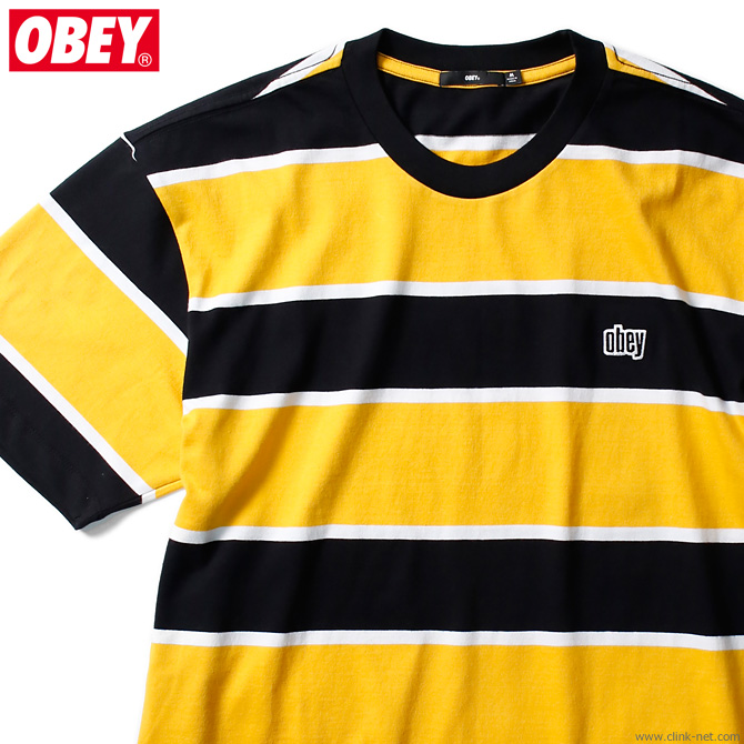 OBEY ACID CLASSIC TEE SS (BLACK MULTI)