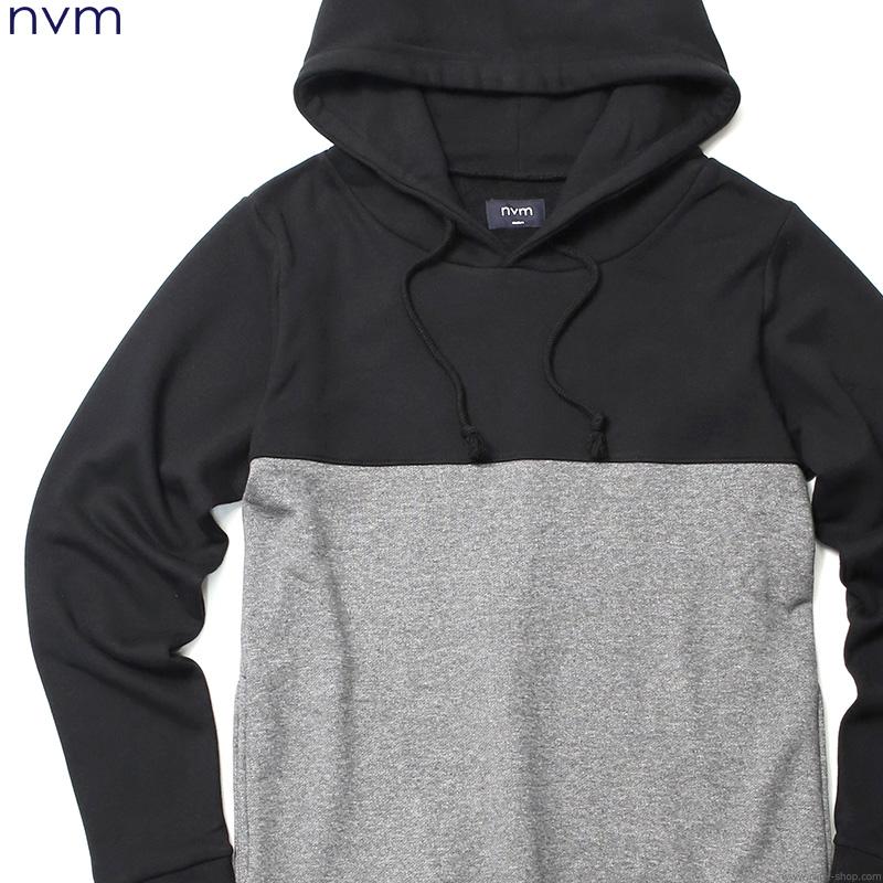 NVM SWITCHING PARKA (BLACK×CHARCOAL) [NVM16A-SW01]