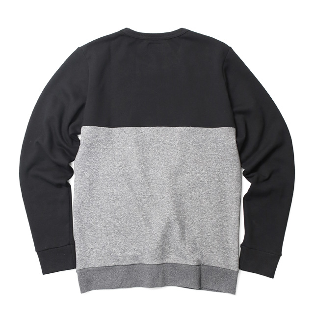 NVM SWITCHING CREW (BLACK×CHARCOAL) [NVM16A-SW02]