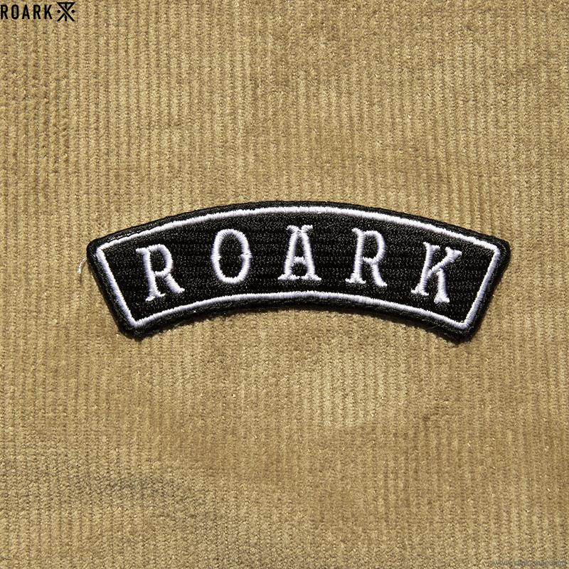 ROARK REVIVAL CORDUROY COACHES JACKET (BEIGE)