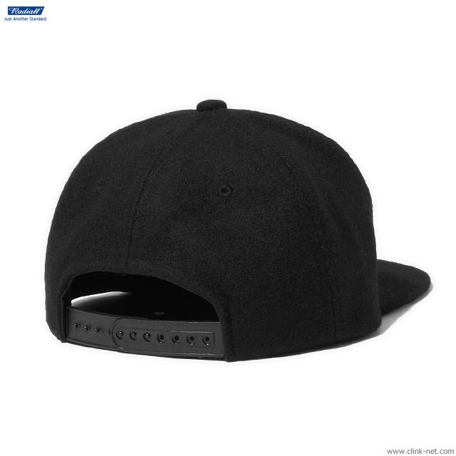 RADIALL FLAGS - BASEBALL CAP (BLACK)