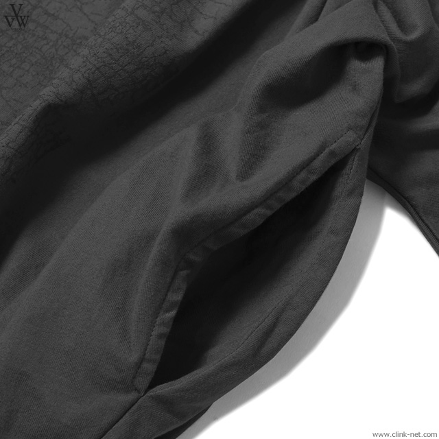 VIRGO HIDDEN VG PONCHO (BLACK) [VG-CUT-390]