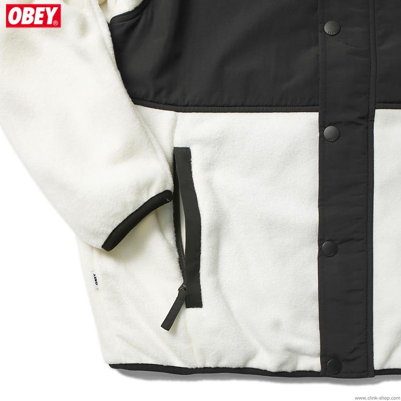 OBEY COMMANDO JACKET (CREAM MULTI)