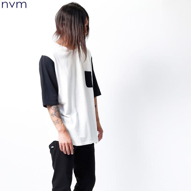 NVM BB 1/2 T (WHITE×BLACK) [NVM16S-CS01]