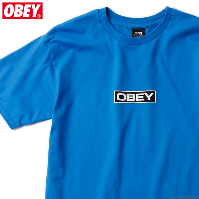 "OBEY BASIC TEE ""DEPOT"" (SKY AZURE)"