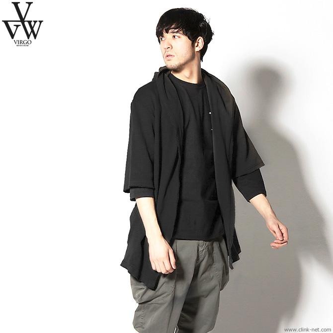 ★SALE★ VIRGO WAFFLE SUMMER NOMAD (BLACK) [VG-KNIT-78]