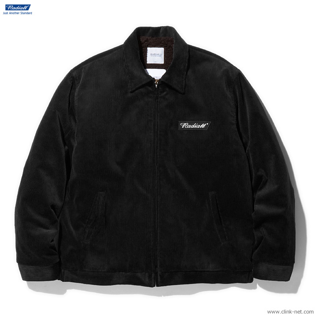 RADIALL VAHJON - WORK JACKET (BLACK)