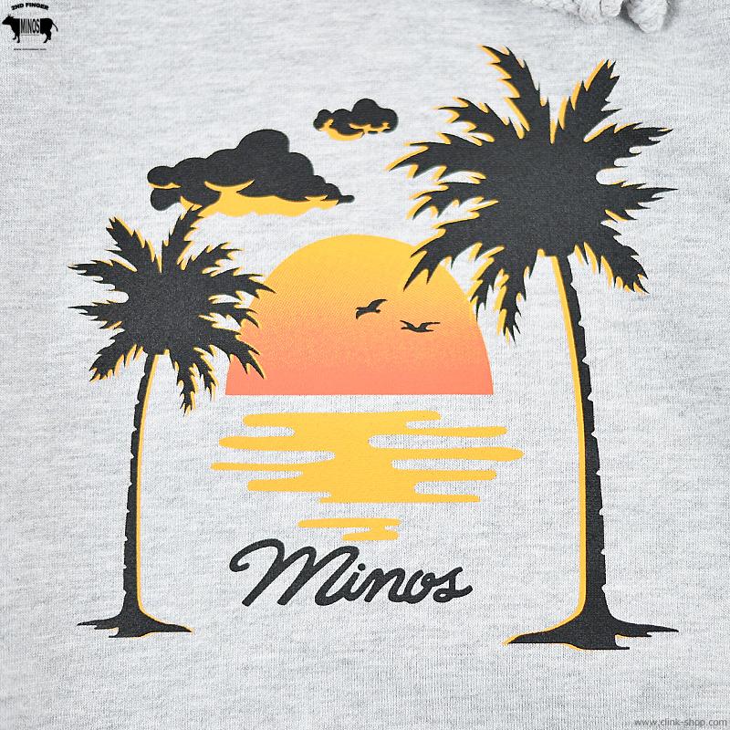 MINOS SUNSET PULL PARKA (GREY HEATHER) [MNV20-SW01]