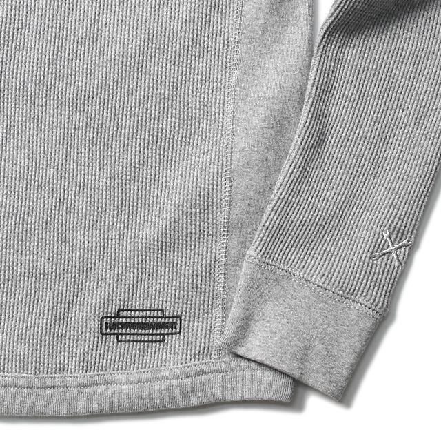 BLUCO 2PACK THERMAL SHIRTS -SETIN SLEEVE- A-PACK (IVO/ASH) [OL-014-019]