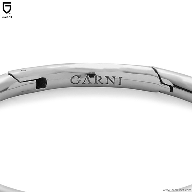 GARNI CARABINER KEY HOLDER - SILVER [GZ19027]