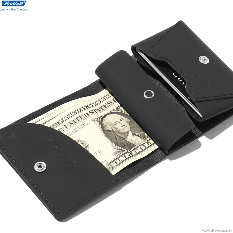 RADIALL PACHUCO - FOLDED WALLET (BLACK)