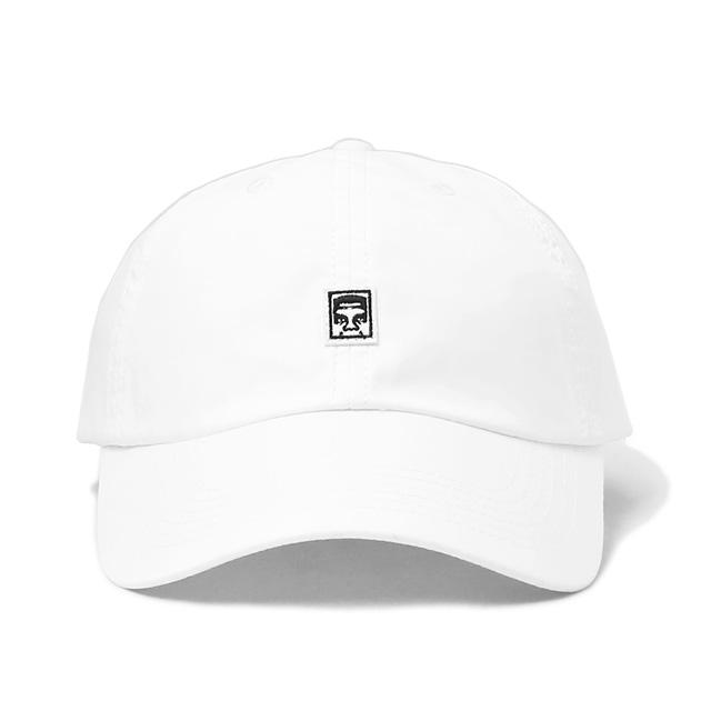 OBEY EIGHTY NINE II 6 PANEL HAT (WHITE)