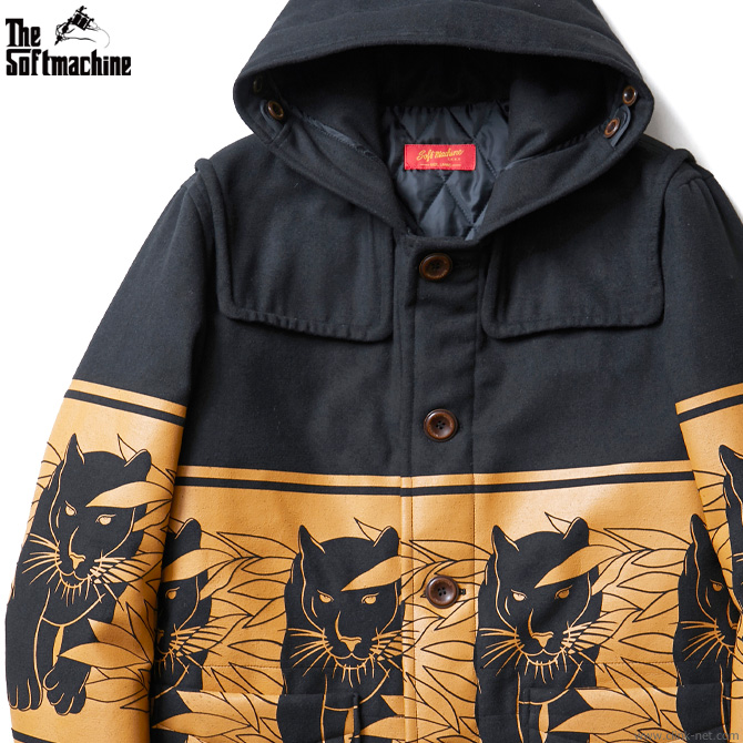 SOFTMACHINE PANTHER COAT (BLACK)