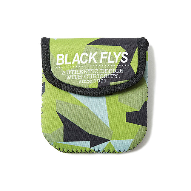 "ANIMALIA feat. BLACK FLYS ""FLY MEMPHIS FOLD"" (MATT BLACK×AMBER ORANGE REVOMIRROR lens) [AN17U-AC05]"