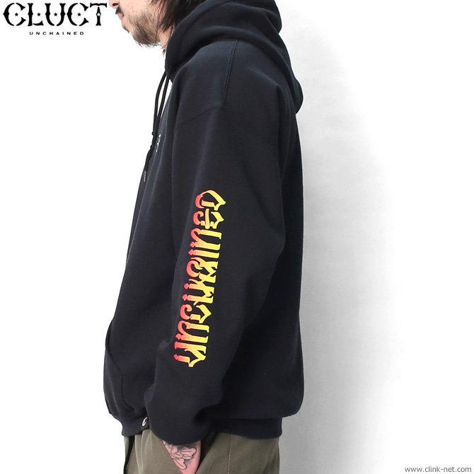 ★SALE★CLUCT UNCHAINED GRADATION HOODPARKA (BLACK) #02996