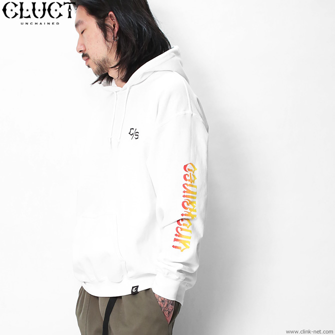 ★SALE★CLUCT UNCHAINED GRADATION HOODPARKA (WHITE) #02996