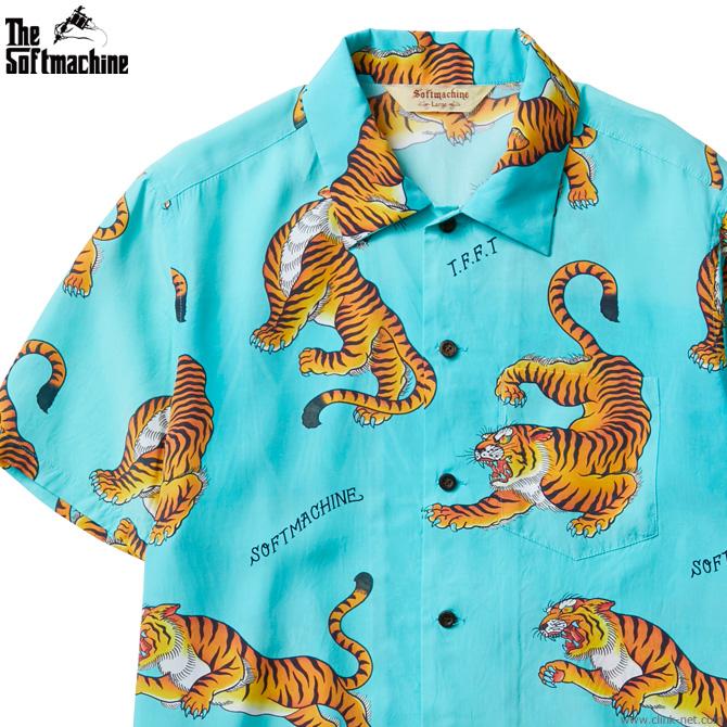 SOFTMACHINE TIGERS GARDEN SHIRTS S/S