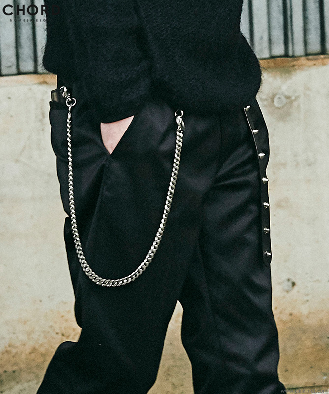 CHORD NUMBER EIGHT WALLET CHAIN (SILVER) [CH01-01K5-AC08]