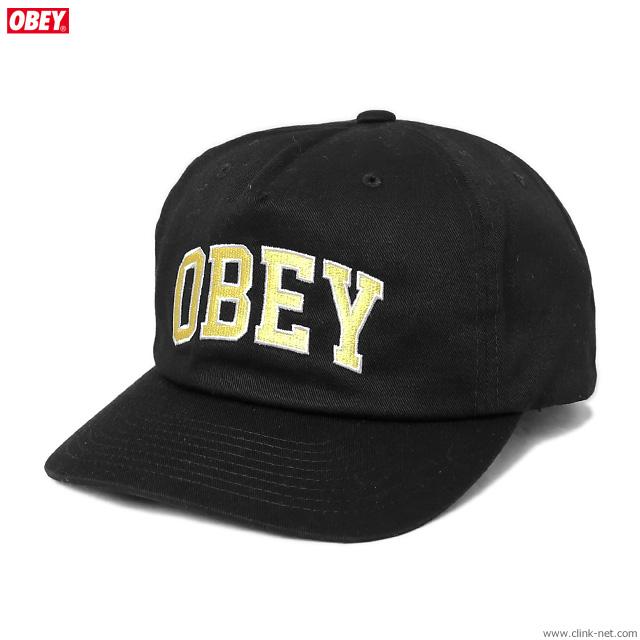 OBEY DTP SNAPBACK (BLACK)