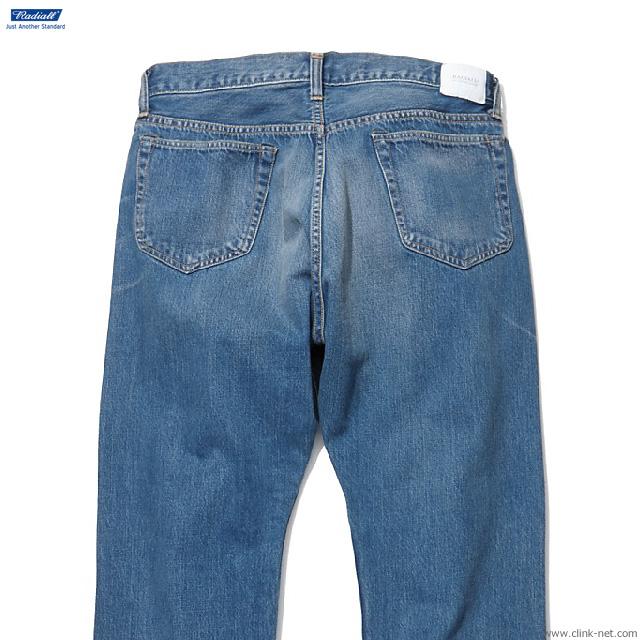RADIALL KUSTOM 350B - STRAIGHT FIT PANTS (LIGHT INDIGO) [RAD-DNM-PT008-02]