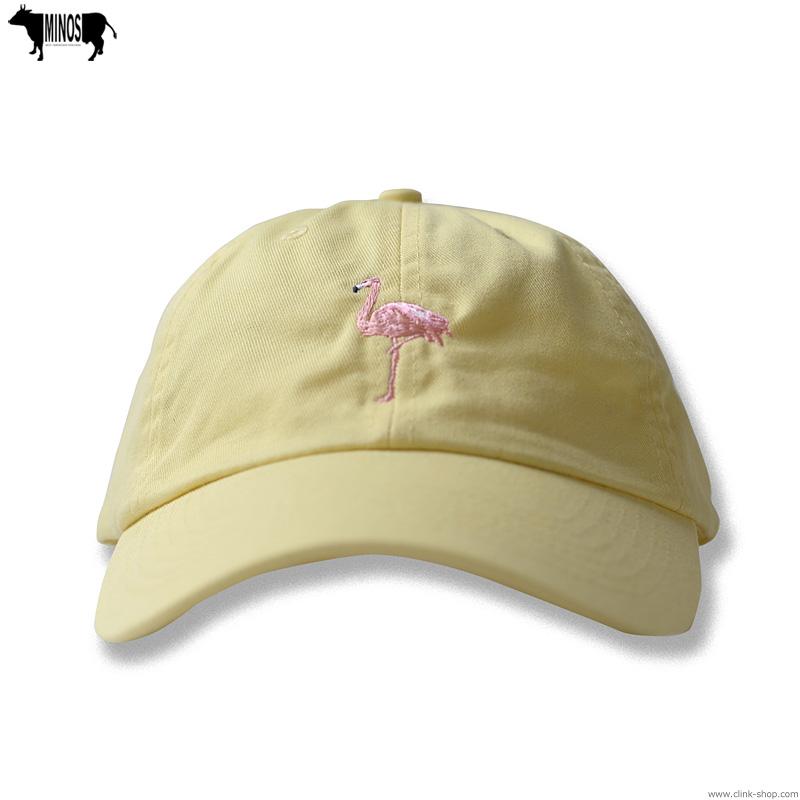 MINOS FLAMINGO DAD'S CAP (BUTTER) [MNU20-CP01]