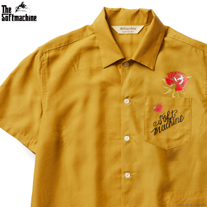 SOFTMACHINE OUT BLOOM SHIRTS (YELLOW)