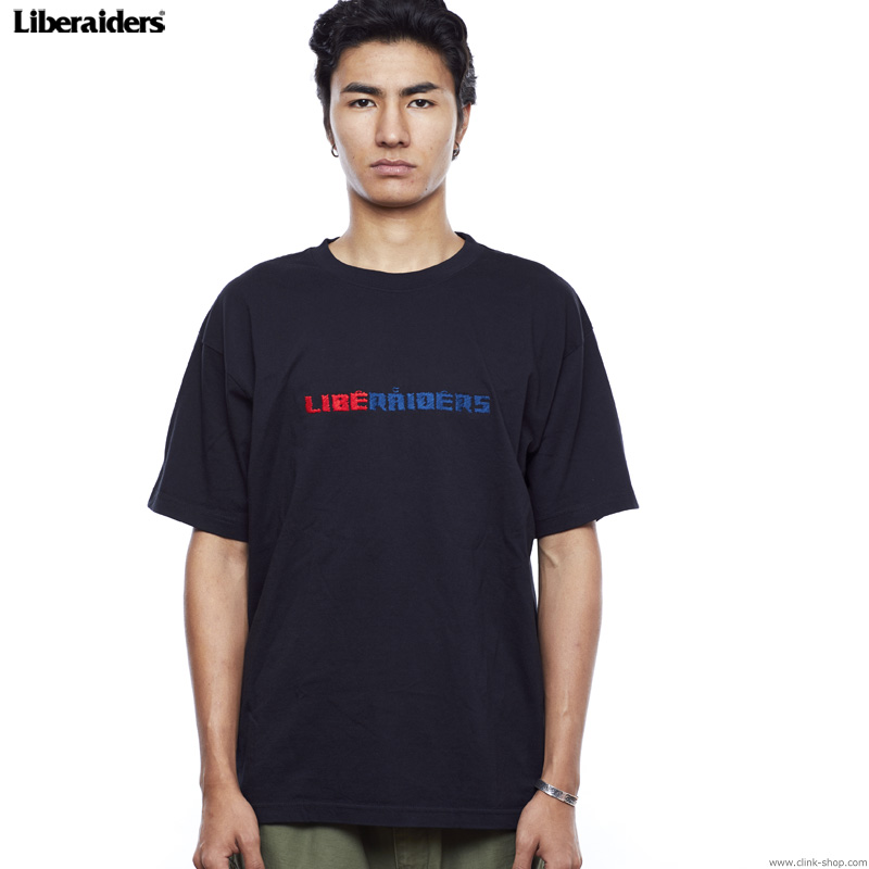 LIBERAIDERS EMBROIDERY TEE (BLACK) #75603