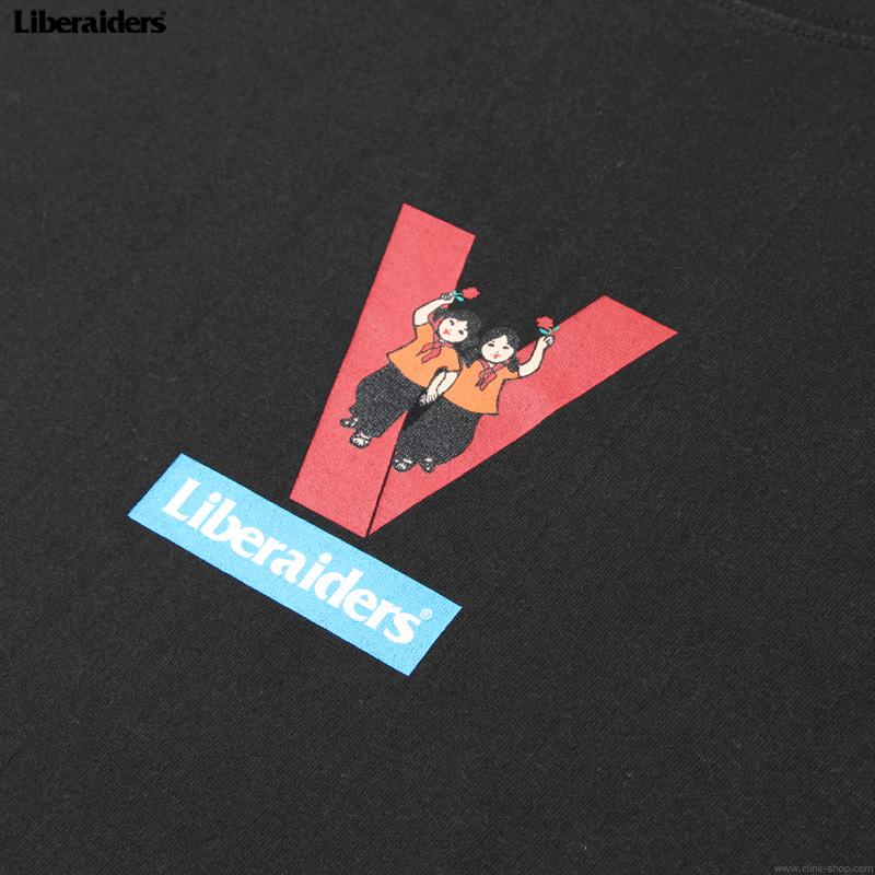 LIBERAIDERS VICTORY TEE (BLACK) #75605