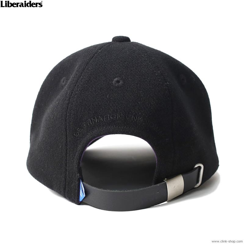 LIBERAIDERS LR LOGO BASEBALL CAP (BLACK) #72903