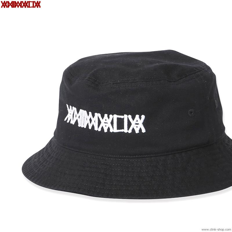 ANIMALIA Bucket Hat - LOGO (BLACK) [AN21S-CP02]