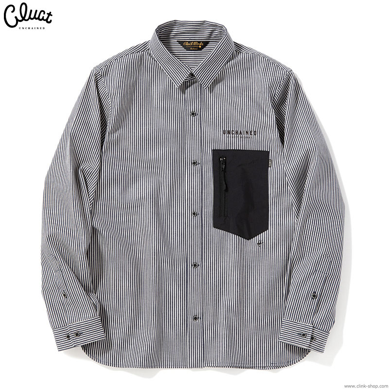 CLUCT CLT-HICKORY L-SH (INDIGO STRIPE) #04061