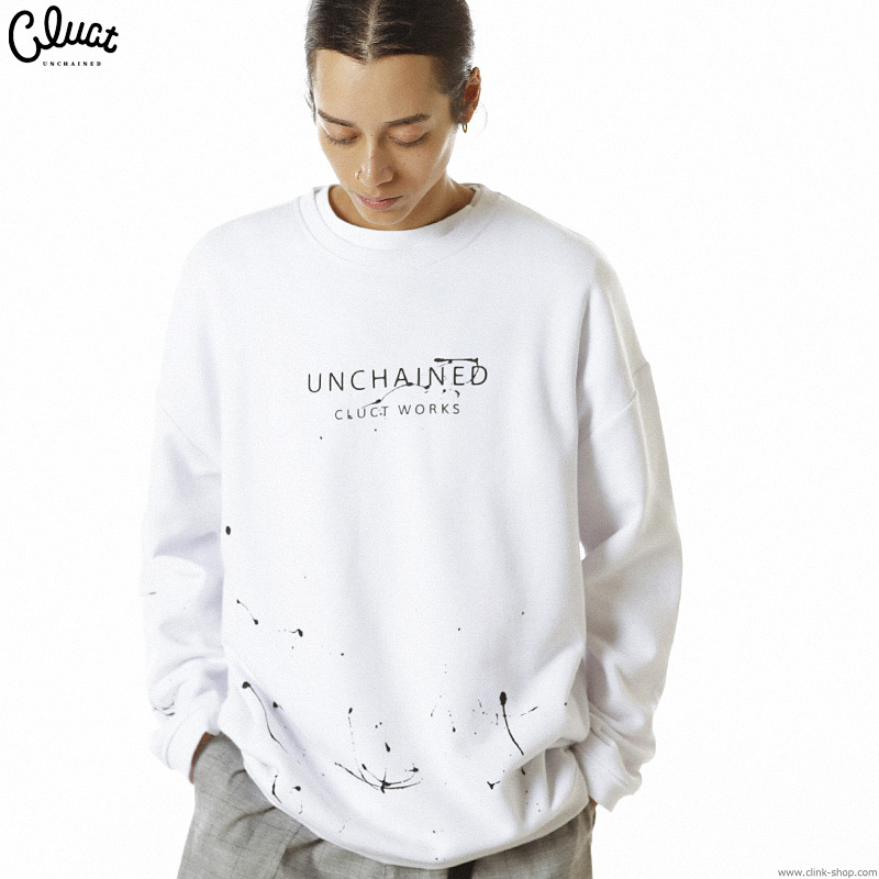 CLUCT CLT-DURTY L/S (WHITE) #04057