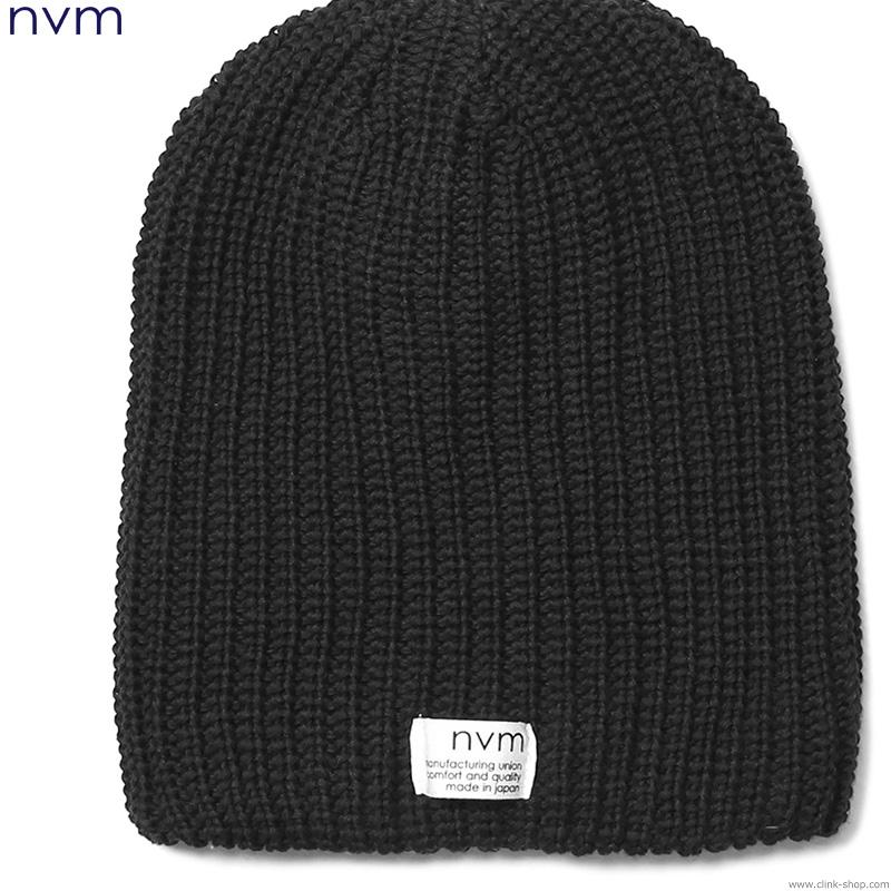 NVM RELAX BEANIE (BLACK) [NVM17S-CP01]