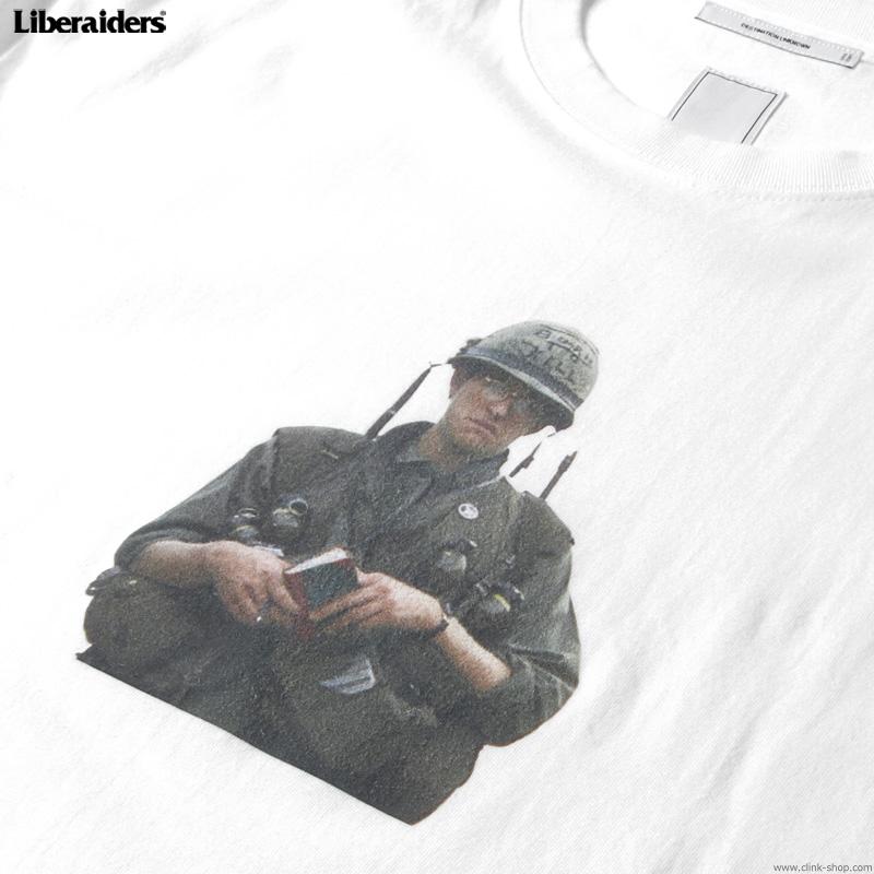 LIBERAIDERS FMJ001 TEE (WHITE) #76601