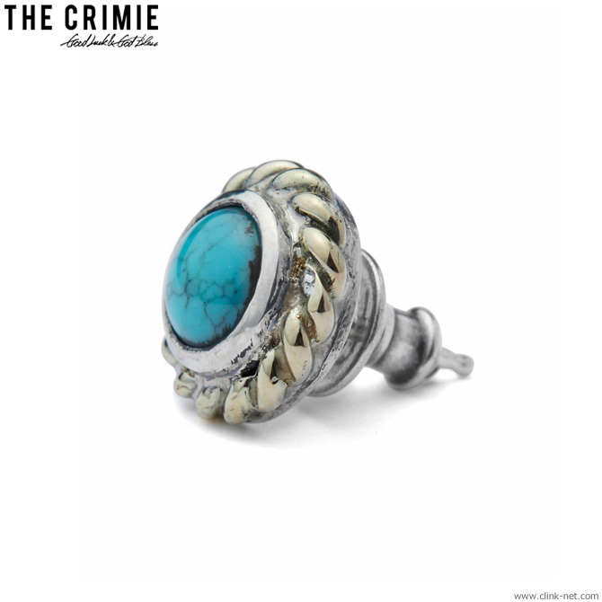 CRIMIE STONE 10K GOLD PIERCE (BLUE) [CRA1-JW10-SP01]