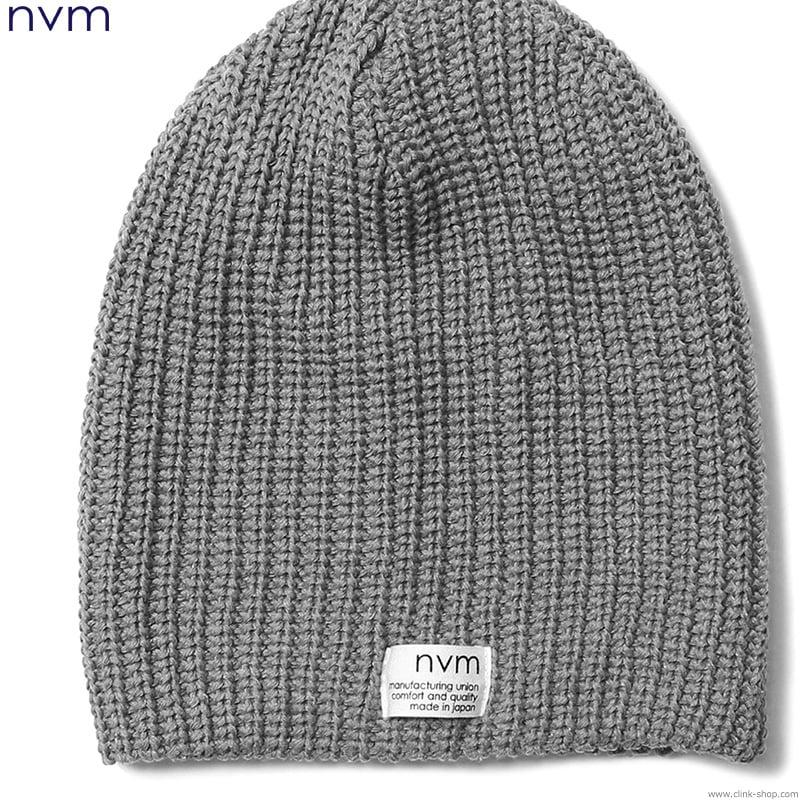 NVM RELAX BEANIE (GRAY) [NVM17S-CP01]