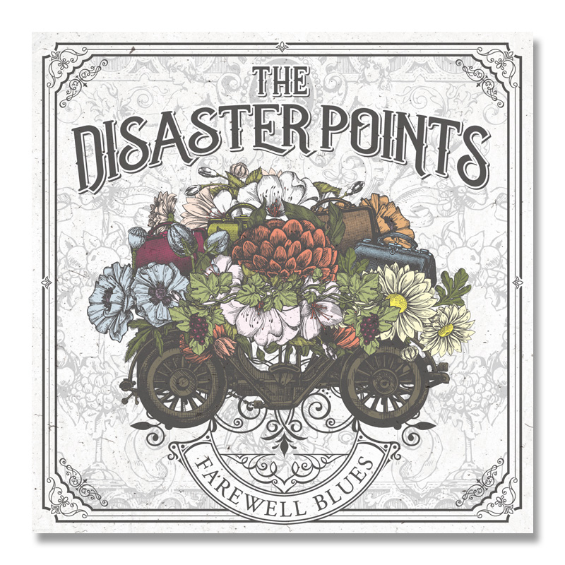 THE DISASTER POINTS / FAREWELL BLUES [CKCA-1074]