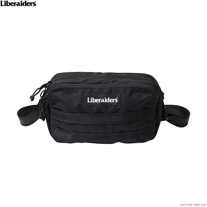 LIBERAIDERS LIBERAIDERS UTILITY WAIST BAG (BLACK) #73902