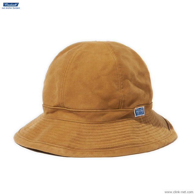 RADIALL T.N. FATIGUE HAT (CAMEL)