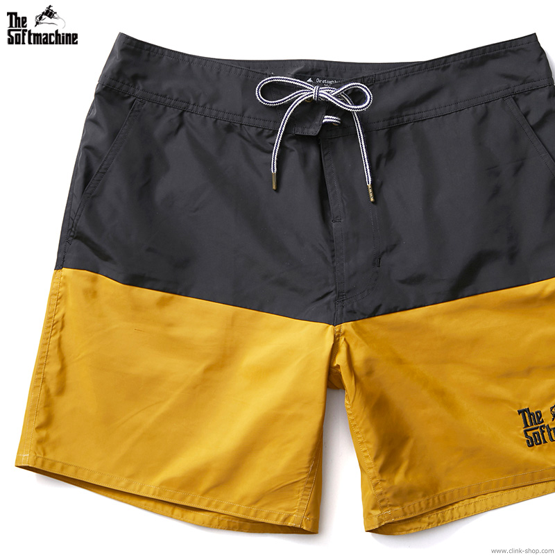 SOFTMACHINE GOD BOARD SHORTS (BLACK)