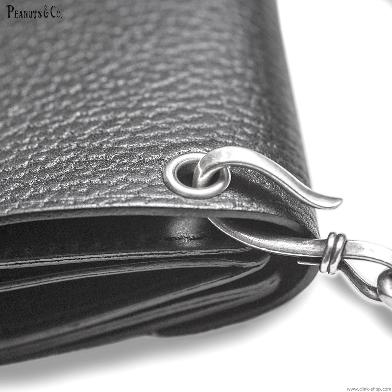 PEANUTS & CO. ORIGINAL LEATHER WALLET - MIDDLE TRACKER WALLET -