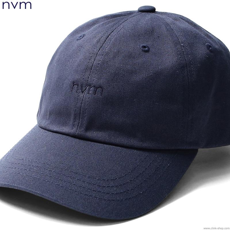 NVM LOGO CAP (NAVY) [NVM17S-CP02]